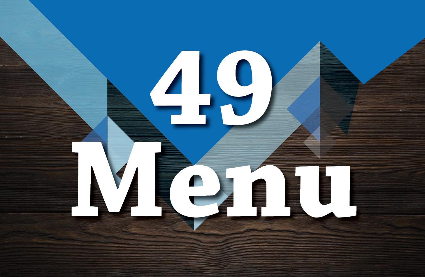 49 Menu