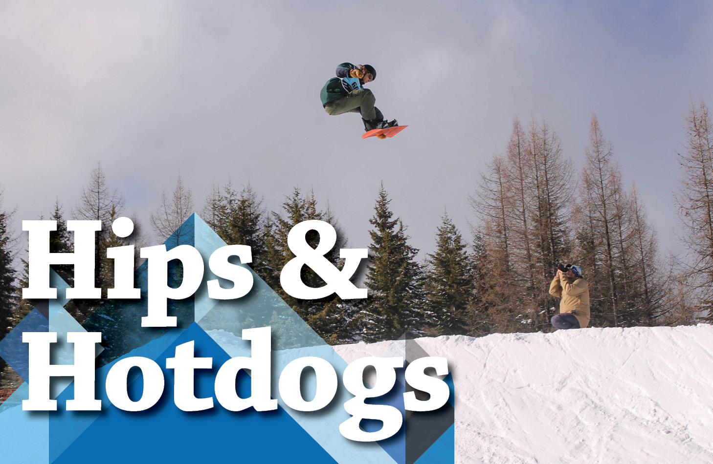 Hips and Hotdogs with snowboarder