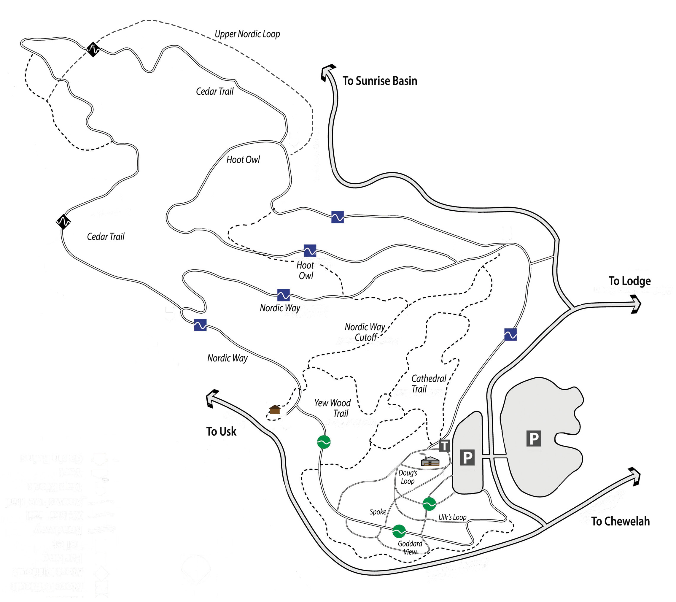 Nordic Trails Map