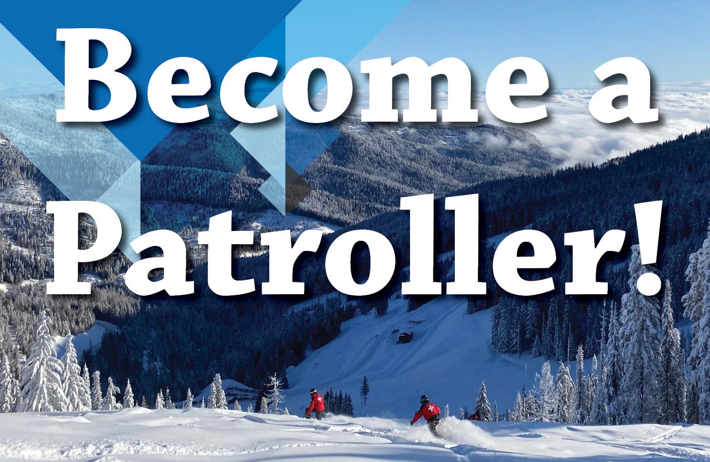 Become a Ski Patroller
