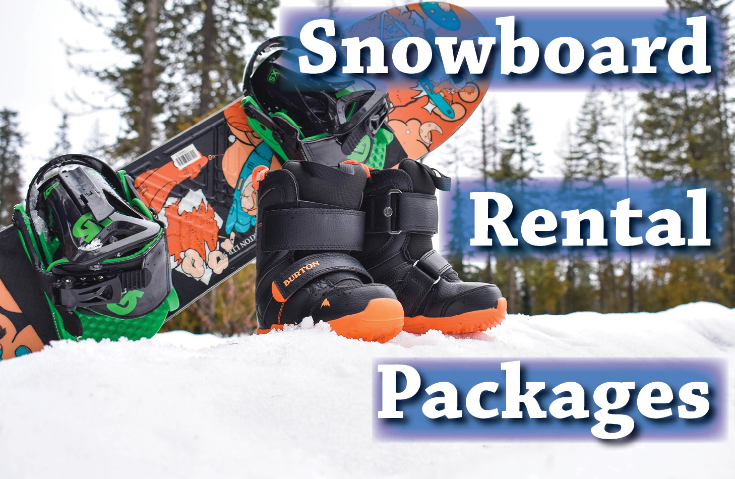 Snowboard Rental Packages