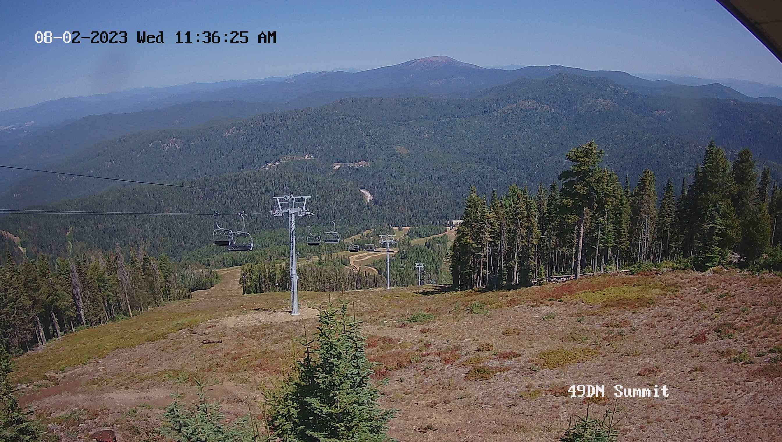 49 Degrees North Summit Cam is Offline